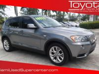 Options:  2011 Bmw X3 Xdrive35i|Gray/|V6 3.0L