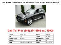 2011 Bmw X5 xDrive35i 4dr All-wheel Drive Sports