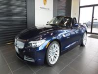 Beautiful 2011 BMW Z4 3.5i with very low mileage,