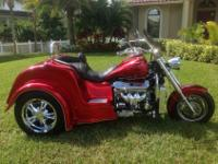 BOSS HOSS LS-3 445HP TRIKE CUSTOM ORDERED AND BUILT BY