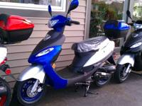 2011 Mopeds/14 left in stock -Red or Blue -Running