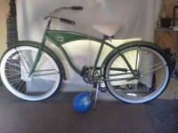 2011 Adult Bud Light Lime Beach Cuiser Bike Excelent