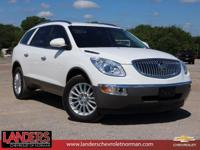 ACCIDENT FREE and A CARFAX 1 OWNER. Enclave CX, 4D