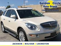 Locally traded 2011 White Diamond Buick Enclave CXL!!