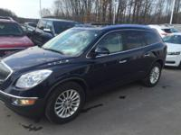 2011 Buick Enclave CXL in Ming Blue Metallic. FWD.