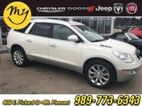 Options:  2011 Buick Enclave Cxl|White|White 2011 Buick