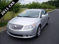 2011 BUICK LaCROSSE CXS in QUICKSILVER METALLIC w/EBONY