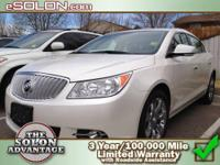 2011 Buick LaCrosse 4dr Car CXL Our Location is: Dave
