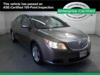 2011 Buick LaCrosse CX Sedan 4D CX Sedan 4D Our