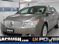 Light Tan 2011 Buick LaCrosse CXL FWD 6-Speed Automatic