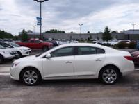 White 2011 Buick LaCrosse CXL AWD 6-Speed Automatic
