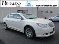 New Price! 2011 Buick LaCrosse CXL White Diamond