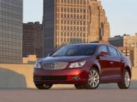 2011 BUICK LACROSSE CXL. FOUR DOOR. EXTERIOR COLOR