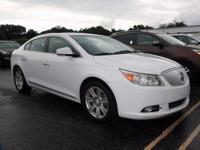 Clean CARFAX. 2011 Buick LaCrosse CXL FWD 6-Speed