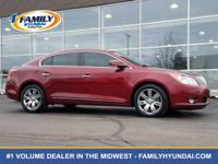 Look at this 2011 Buick Lacrosse CXS. Its Automatic