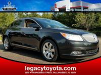 Clean CARFAX. New Price! LEATHER, LaCrosse CXS, 4D