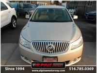 ONE OWNER LOCAL BUICK LACROSSE CXL AWD WITH YES ONLY