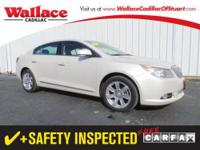 2011 BUICK LACROSSE SEDAN 4 DOOR CXL AWD Our Location