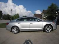 2011 Buick LaCrosse with Touring Package and