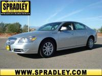 This vehicle is absolutely striking! This 2011 Buick