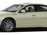 White Diamond Tricoat 2011 Buick Lucerne CX FWD 4-Speed