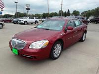 Crystal Red Tint 2011 Buick Lucerne CXL FWD 4-Speed