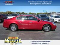 This 2011 Buick Lucerne CXL in is well equipped with: