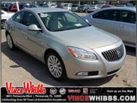 CARFAX 1-Owner, Buick Certified. FUEL EFFICIENT 30 MPG