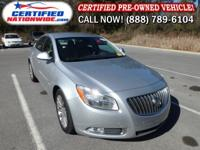 LOW MILES. This 2011 Buick Regal is nicely geared up