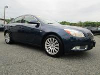 CARFAX One-Owner. Majestic Blue Metallic 2011 Buick