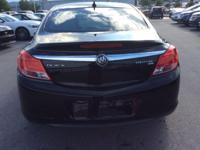 Recent Arrival! 2011 Buick Regal CXL Onyx Black 30/19