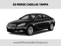 2011 Buick Regal CXL in Black, *Carfax Accident Free*,