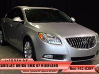 2011 Buick Regal CXL in Quicksilver Metallic. 6-Speed