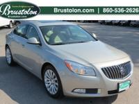 Drive around town in style in the used Buick Regal for