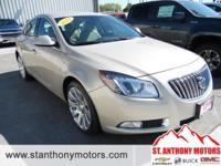 This Buick Regal has a 2.0 liter 4 Cylinder Engine high