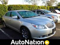 2011 BUICK REGAL Sedan CXL Our Location is: Don Mealey
