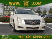 Options:  2011 Cadillac Cts Sedan Has Been Pampered By