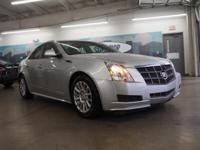 Recent Arrival! 2011 Cadillac CTS Luxury Radiant Silver