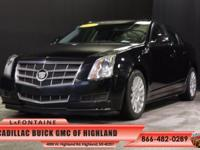 2011 Cadillac CTS Luxury in Black Raven. Luxury Level