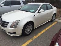 2011 Cadillac CTS Luxury in White Diamond Tricoat.