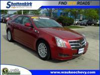 Options:  2011 Cadillac Cts 3.0L Luxury|Awd 3.0L Luxury