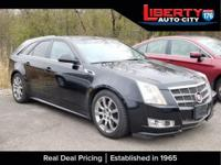 Black 2011 Cadillac CTS Premium AWD AWD 6-Speed