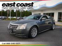 Drivers only for this sleek and dynamic 2011 Cadillac