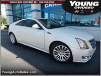 2011 Cadillac CTS Coupe 2dr Car Premium Our Location