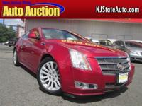 This 2011 Cadillac CTS 2dr Luxury Performance AWD Coupe