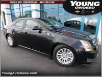 2011 Cadillac CTS Sedan 4dr Car Our Location is: Young