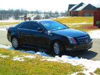 Just off lease 2011 Cadillac CTS Luxury AWD in Black