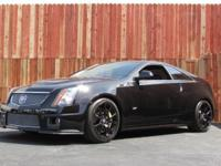 This 2011 Cadillac CTS-V Coupe 2dr 2dr Cpe Coupe