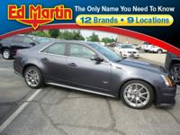 Recent Arrival! ****, CTS-V, ULTRAVIEW SUNROOF, 6.2L w/