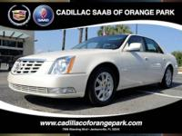 -Sunroof- -Navigation- This White, 2011 CADILLAC DTS is